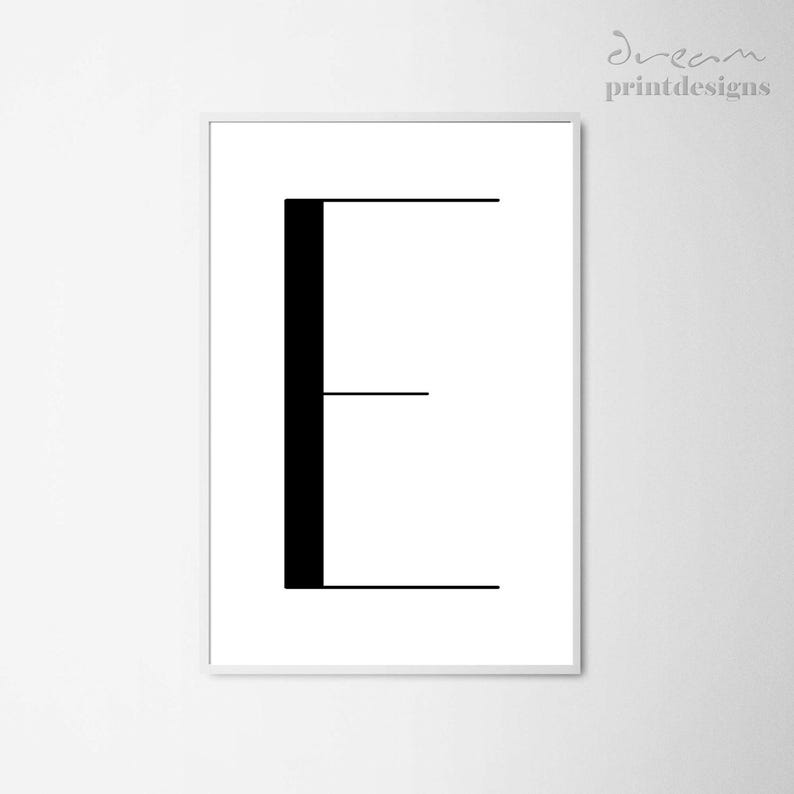 picture regarding Printable Letter E identified as Letter E Printable Poster, Scandinavian Poster, Very low Letter E, Nordic Poster, Minimalist Poster, Letter E Poster, Electronic Letter Print