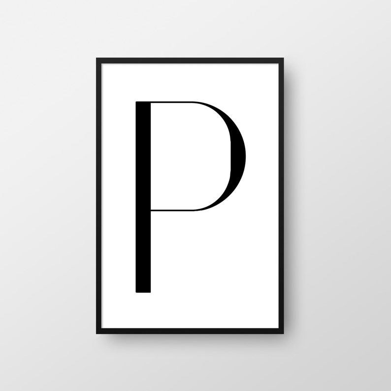 graphic regarding Letter P Printable referred to as Letter P Printable Poster, Scandinavian Poster, Letter P Print, Nordic Poster, Minimalist Poster, Letter P Poster, Electronic Letter Print