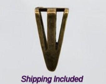 16-BB-3 10 Antique Bronze Slider Bails