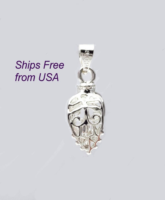 Bright Silver Pinch Bails Ships Free from WI USA Qty 5//10 40-BS
