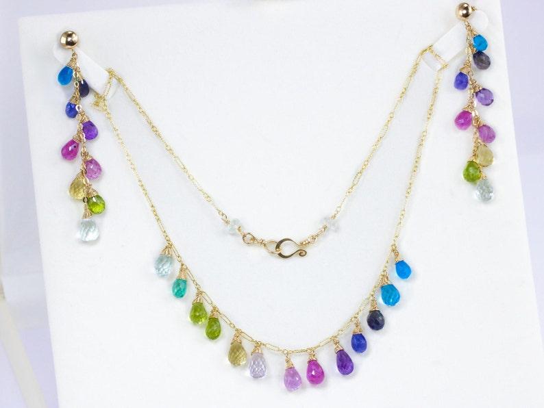 Lex /& Lu Sterling Silver RH Blue CZ Circle Necklace 17