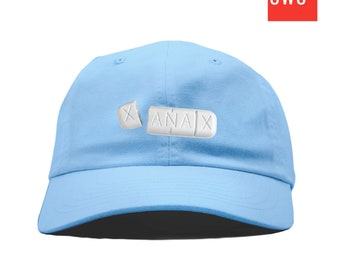 c9325479bfd7 XANAX Pill Embroidered Dad Cap by Streetwear Surplus