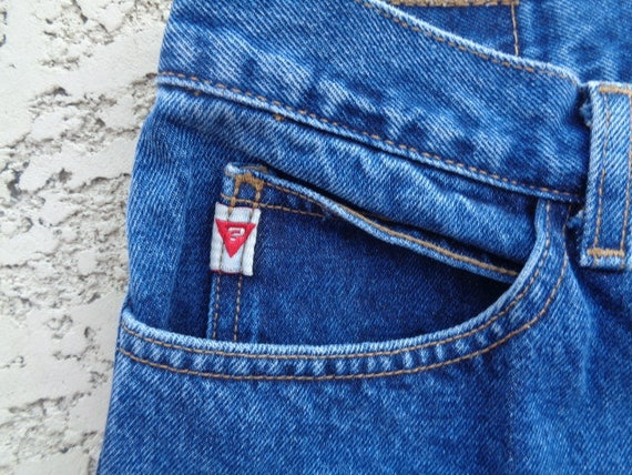 vintage 80's Guess jeans Guess jeans american fla… - image 3