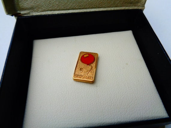 VTG ,Hospital pin, ,GF Lapel Pin Tie Tack award pi