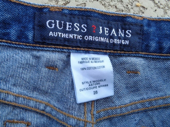 vintage 80's Guess jeans Guess jeans american fla… - image 4