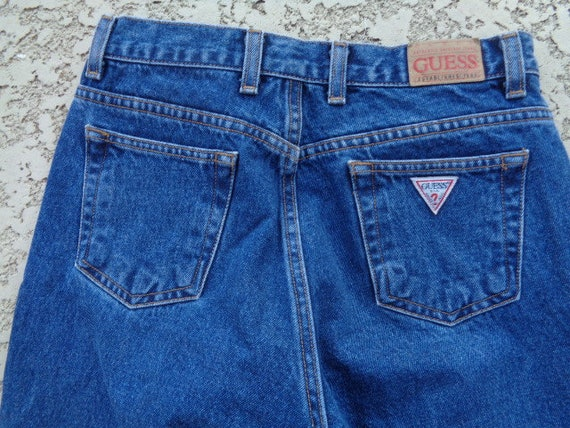 vintage 80's Guess jeans Guess jeans american fla… - image 7