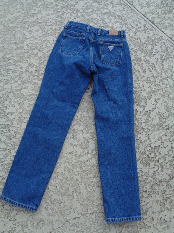 vintage 80's Guess jeans Guess jeans american fla… - image 6