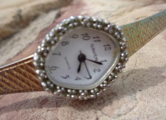 Vintage 1950s Watch | Diamond Watch | Gruen Watch
