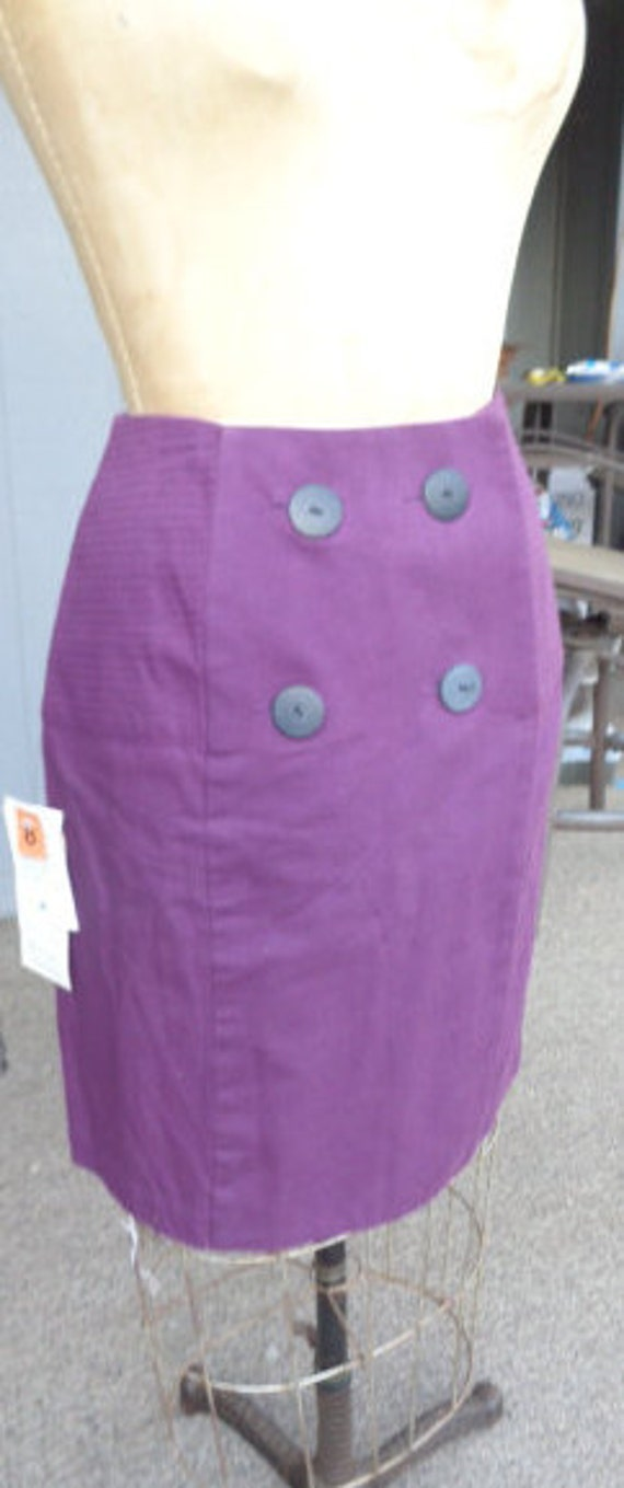 vintage 80's 90's Skirt, Hairston Roberson Ropa, s
