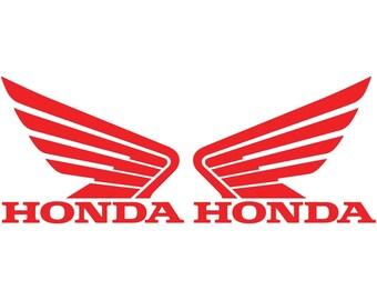 Honda Decals Etsy