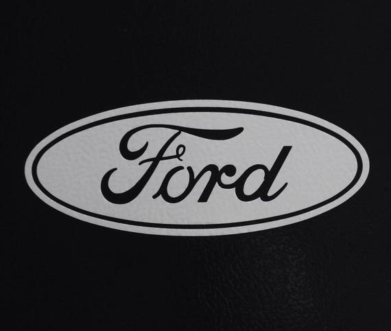 Ford Decal Sticker Choose Size Color Truck Car Ford Emblem Ford Logo Ford