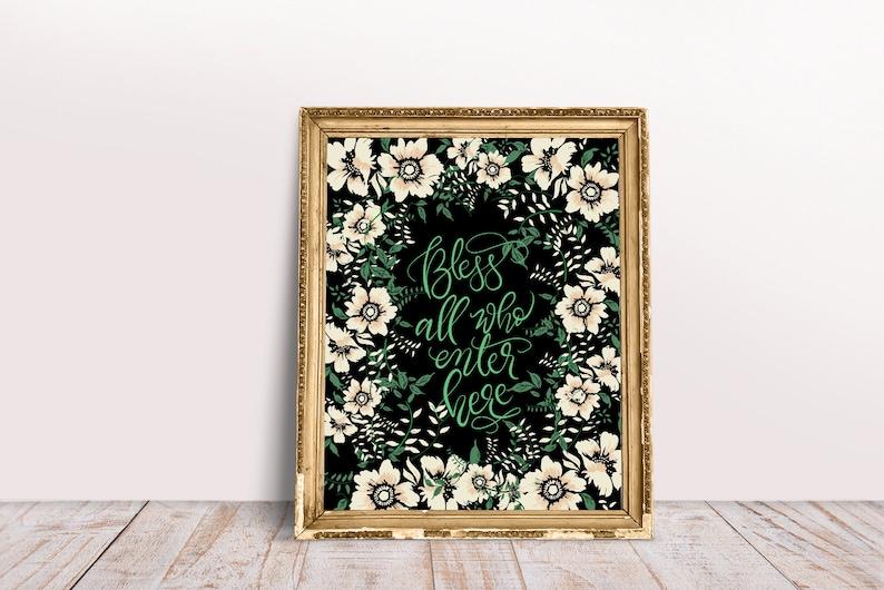 Calligraphy art printable Calligraphy PosterHome decor Wall image 0