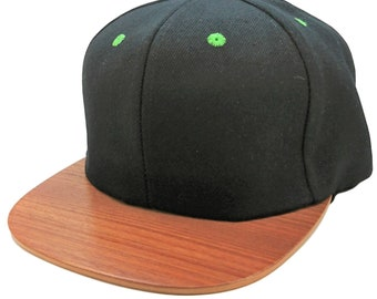 dbc06d0800cad Wood Brim Snapback Hats