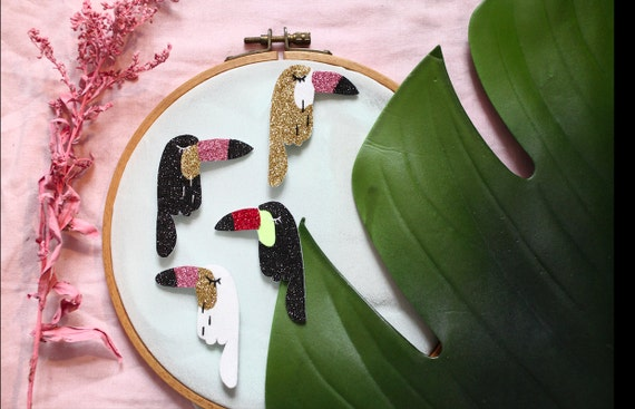 Alban - the Toucan - Handmade - tender Cactus