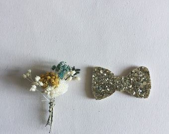 Carl - Butterfly Knot - Brooch - Handmade - Tender Cactus