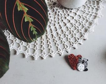 Polly the koala - handmade brooch
