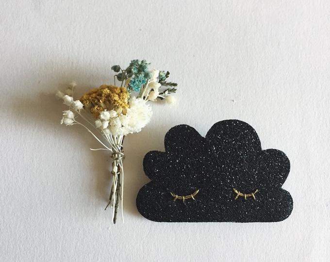 Featured listing image: Sleepy cloud brooch
