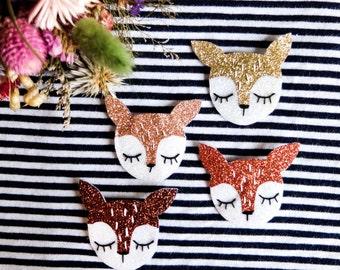 Biche brooch - Baby Bambi - Tender Cactus - Handmade - La Rochelle