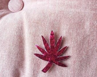 Palma - brooch - Handmade - foliage - Greenery - soft Cactus - the Rochelle