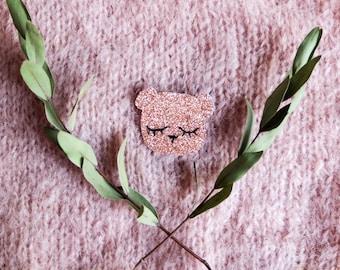 Bear - Brooch - Handmade - Tender Cactus
