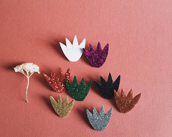 Minta the flower - handmade brooch