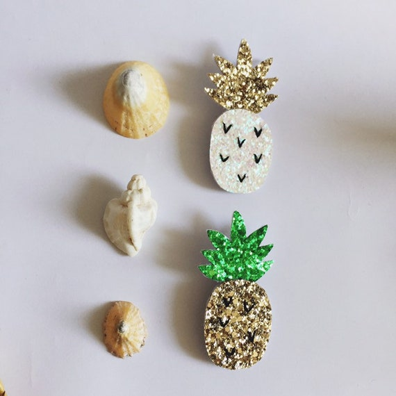 Antonio II the pineapple - handmade brooch