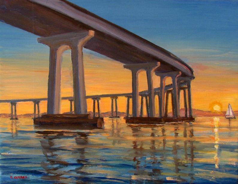 0300141bd2 Coronado Bridge at Sunrise