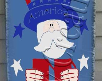 Uncle Sam Holding USA    Svg, Png, Jpeg