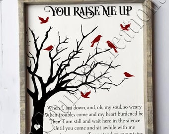 You raise me up thin,   SVG, PNG, JPEG