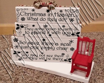 christmas in heaven 1 2 3 4 bundle digital svg not an ornament or sign