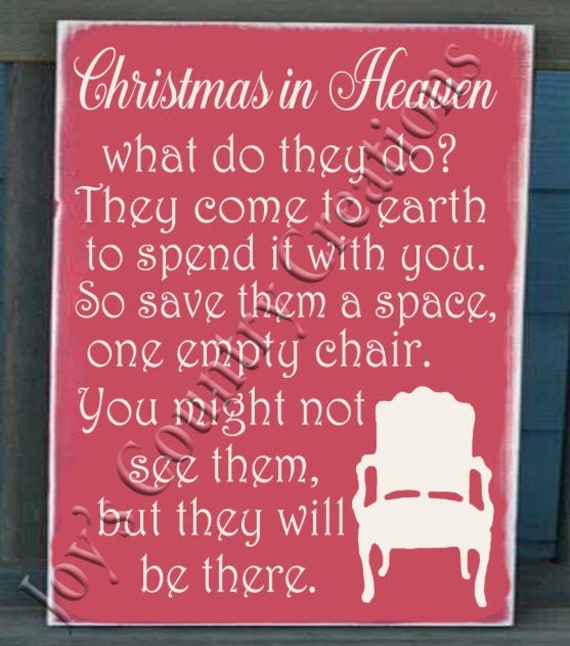 Christmas In Heaven Svg.Christmas In Heaven Plaque And Chair Fred And Bo Special