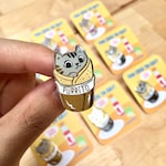 Purrito Hard Enamel Lapel Pin