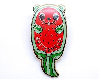 Wottermelon Hard Enamel Lapel Pin