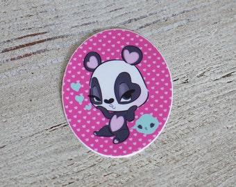 Lovey Blush, the Sassy Panda sticker