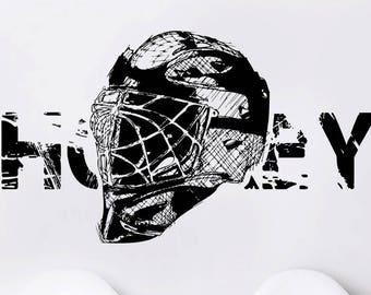 Washinton Capitales Nhl Hockey Decoración de pared calcomanía para casa coche portátil Sports