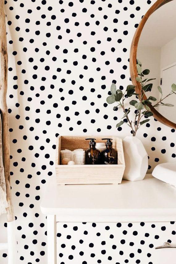 Modern Wall Decals Nursery Decals Modern Decor Polka Dot Wall Decals Confetti Decals Polka Dot Set