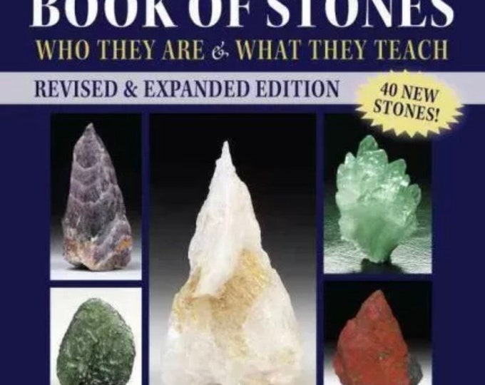 The Pocket Book Of Stones, Revised Edition by Robert Simmons 9781583949122 Paperback Small and full of divine information