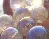 ANGEL AURA Crystals - Tumbled Medium 3 4 - 1 Spheres 22-33mm - Unicorn Quartz - Aura Amethyst Angel Aura Clear Quartz AAQuality BrazilTT