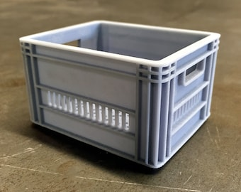 Miniature Milk Crate | 3D Printer File
