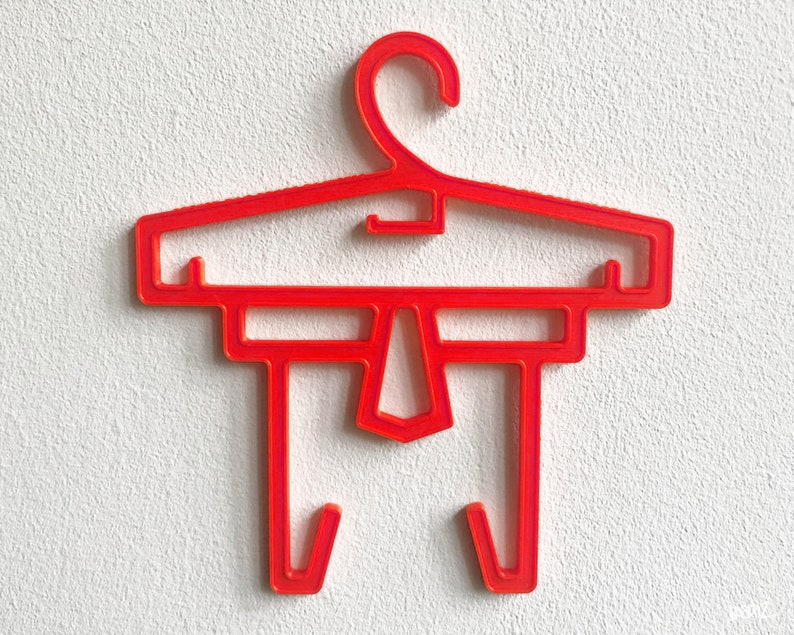 MF POOL  DOOM Logo Sampling Art Object Red