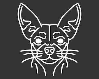 Chihuahua Decal GD129