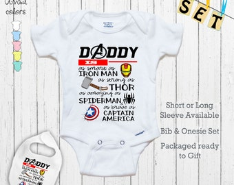 Twin SUPERHERO Baby Grow for Boys or Girls New Parents or 1st Baby Gift Ideal Baby Shower Lightning Bolt Flash Baby Vest  Bodysuit
