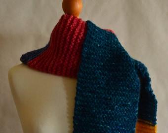 Extra long Unicorn scarf // 100% rustic merino wool