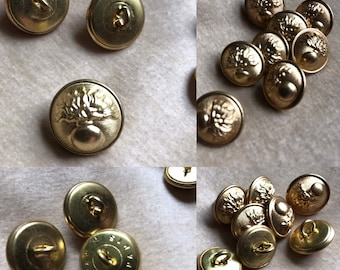 French military buttons | Etsy