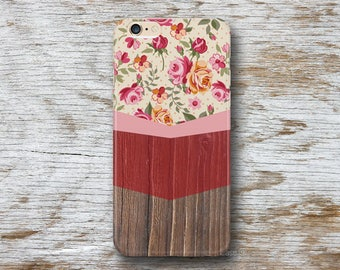 iPhone 7 Case Wood iPhone 6S Plus Case Floral iPhone 6 Case iPhone 7 Plus Case Wood iPhone 5S Galaxy Note 5 Galaxy S5 Case Wood LG G4