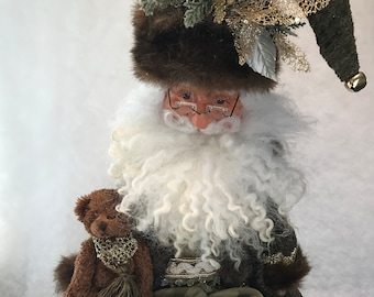 Whimsical Santa Elf 4 Keepsakes By Shirley
