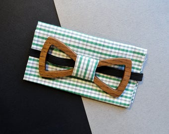 Wedding Accessories / Neckties / wood bow tie / Wooden bow tie / Father's day gift / Anniversary gift / groomsmen gift / wedding bow tie
