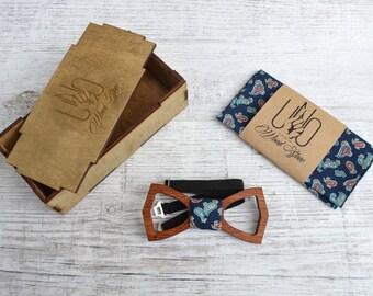 Wooden bow tie Wedding bowtie wood bow tie Boyfriend gift Father day gift groomsmen gift groom bowtie groomsman anniversary gift bow ties