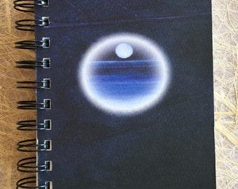 ttams - journal/sketchbook/notebook - moon