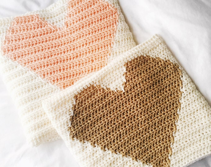 The Heart - Heart Blanket- Heart baby blanket